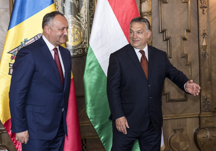 Moldova's President Igor Dodon Pays Official Visit To Hungary post's picture
