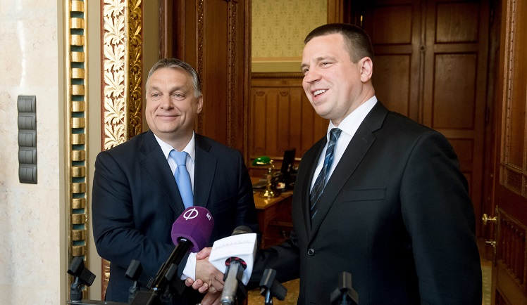 Estonian Prime Minister Pays Official Visit To Budapest In Preparation For Estonia's Upcoming EU Presidency post's picture