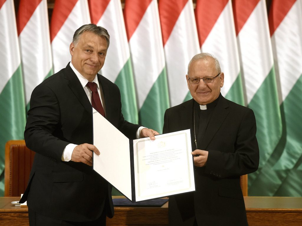 Hungarian PM Orbán Meets with Iraqi Catholic Patriarch, Signs Agreement on Rebuilding Homes for Iraqi Christians post's picture