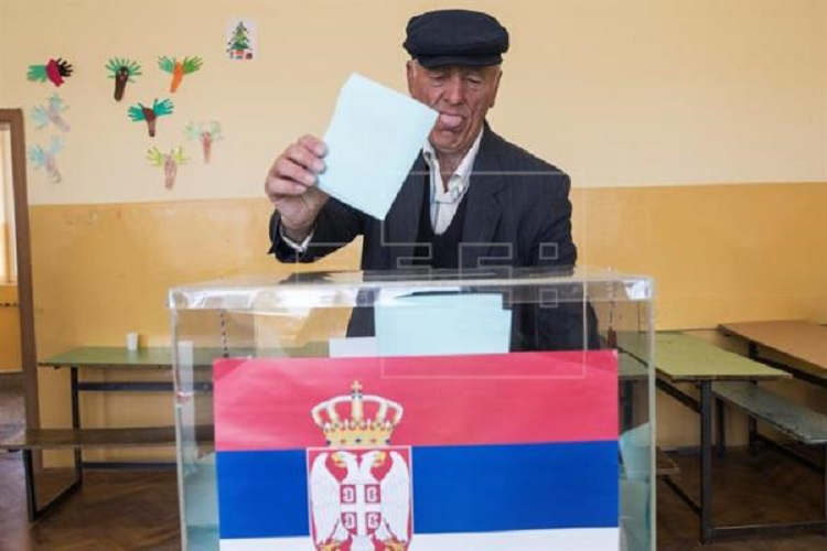 Serbian presidental elections on 2 April 2017 (photo: efe.com)