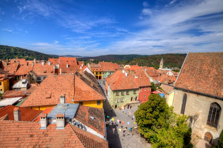 A view of Segesvár/Sighisoara (Photo: brinzan.com/Dumitru Brinzan)