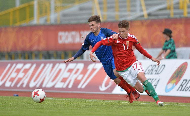 The Football Team of Tomorrow: Hungary Defeats France in U-17 Euro Cup post's picture