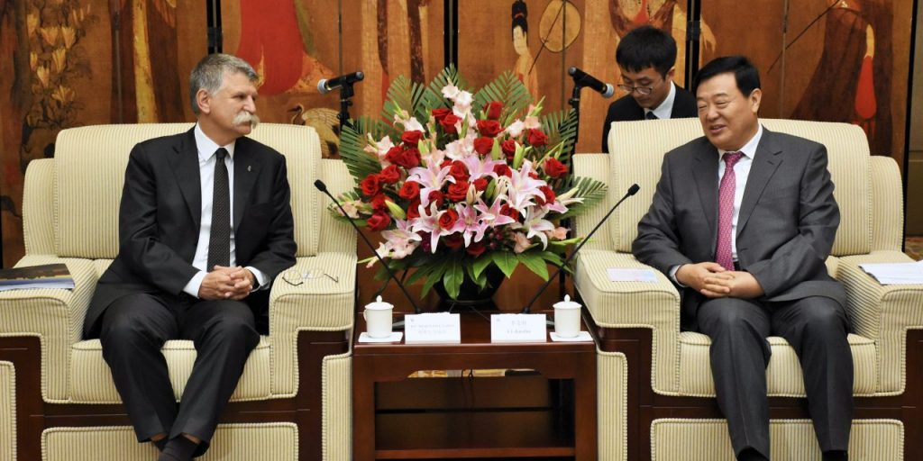 László Kövér Speaker Of Hungary's Parliament, Praised Hungary's Current Relations With China As Unprecedented post's picture
