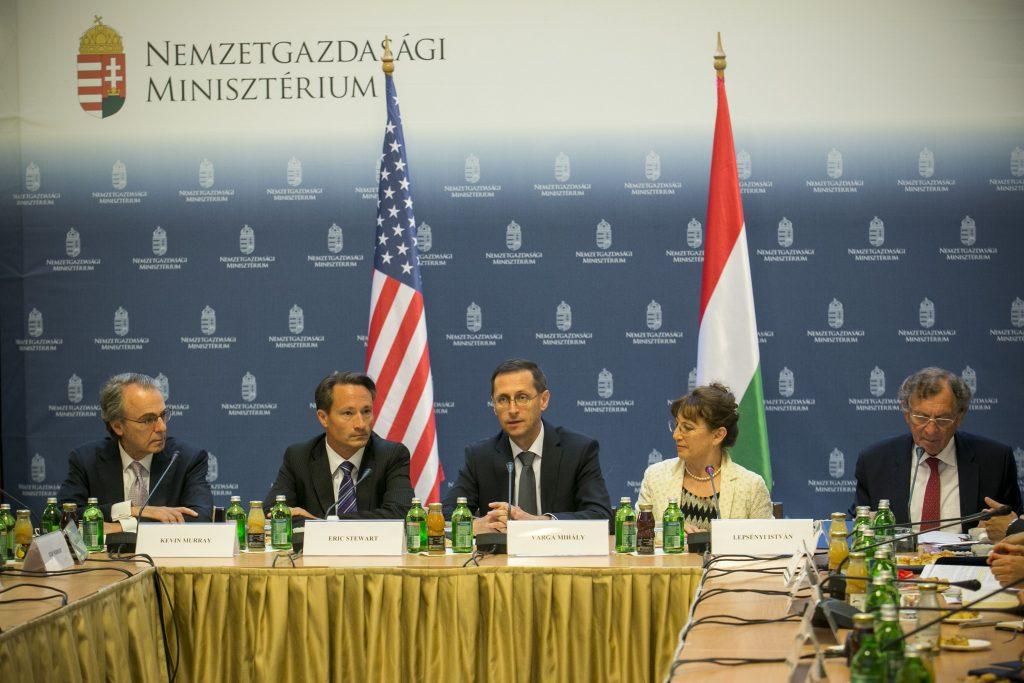 US-Hungarian Business Council President Meets With Government Officials in Budapest post's picture