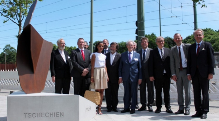 Visegrad Monument Unveiled In Berlin To Mark Central Europe's Contribution To German Re-Unification post's picture