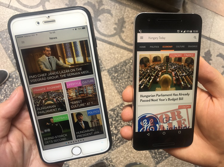 Download Hungary Today's New And Free Mobile Application – Now Available On App Store and Google Play! post's picture
