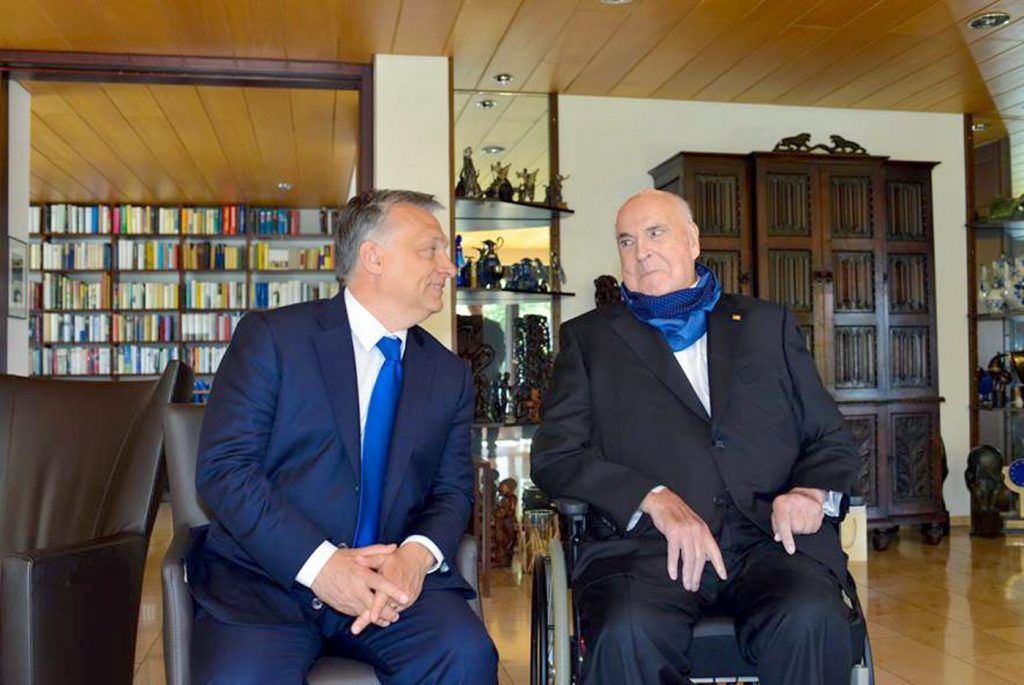 Prime Minister Viktor Orbán Sends Letter of Condolence to Former German Chancellor Helmut Kohl's Widow post's picture