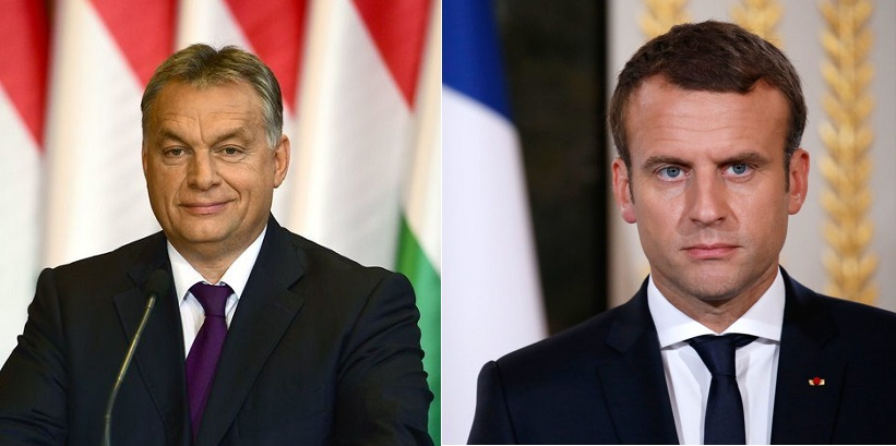 "Orbán To Macron: ""This Isn't How We Do Things Around Here"" post's picture"