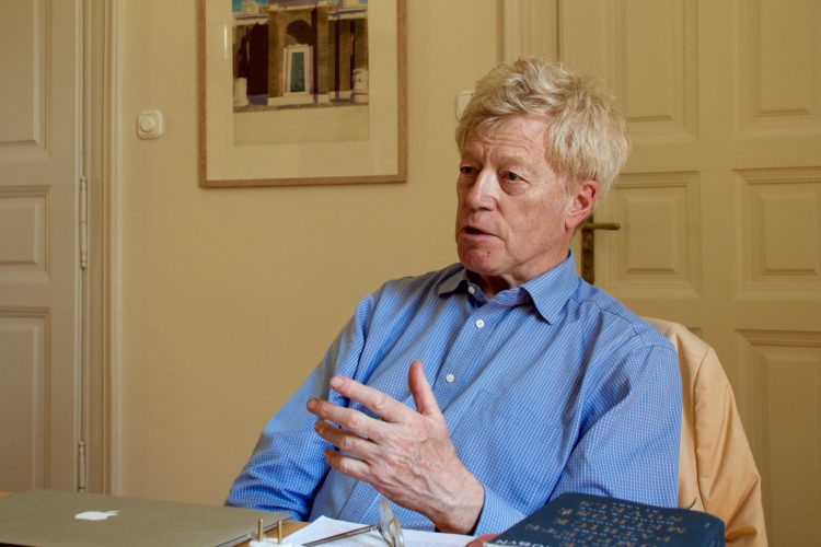 "Sir Roger Scruton on Trump: ""He doesn't have any thoughts that are longer than 140 characters"" – Exclusive Interview post's picture"