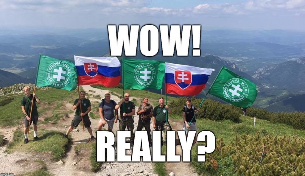 Wow! Really? Slovak Nazis Can't Find Their Own Mountain! post's picture