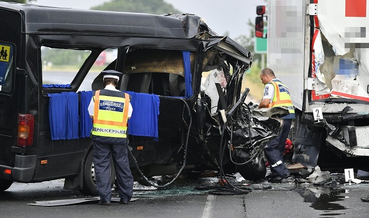 Three Killed And Six Injured As Bulgarian Minibus Crashes Into Polish Lorry On Highway 42 post's picture