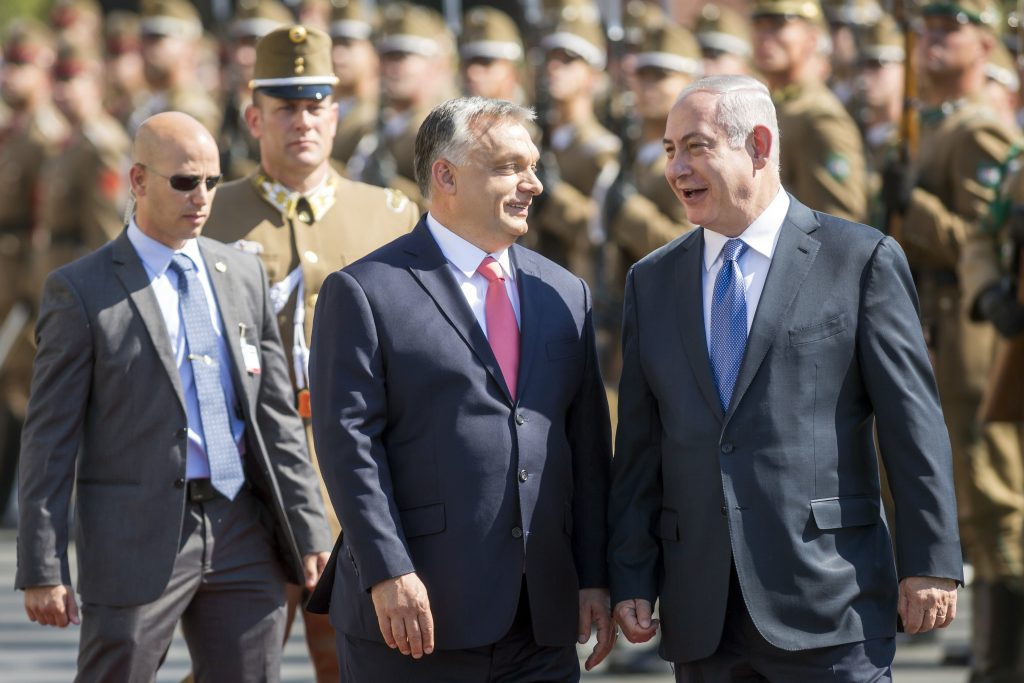 Orbán to Attend V4-Israel Summit post's picture