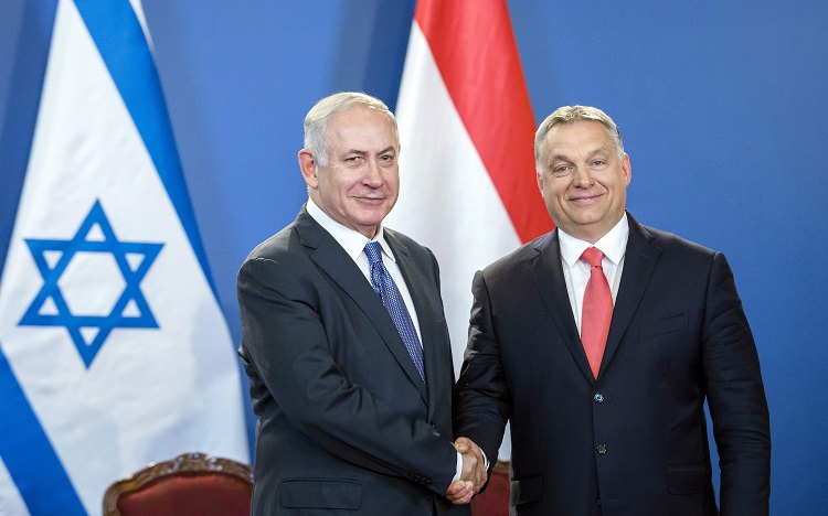 """Netanyahu In Budapest: """"Hungary And Israel Are Aware Of The Past But Look To The Future"""" post's picture"""