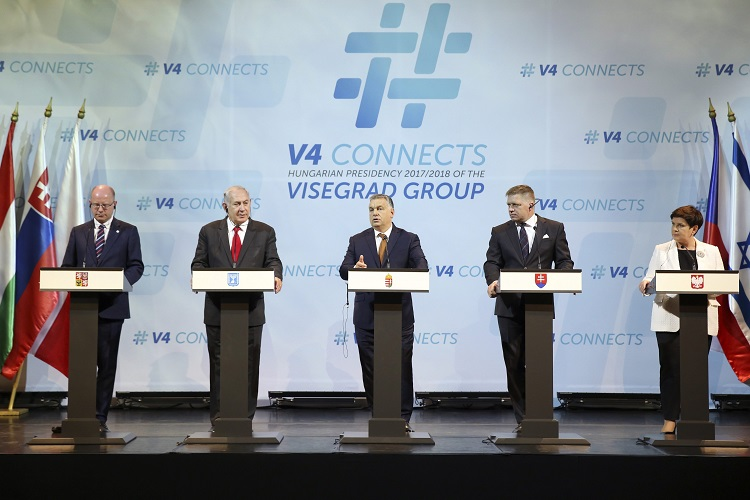 Visegrad Countries, Israel Join Forces To Fight Terrorism, Leaders Agree In Budapest post's picture