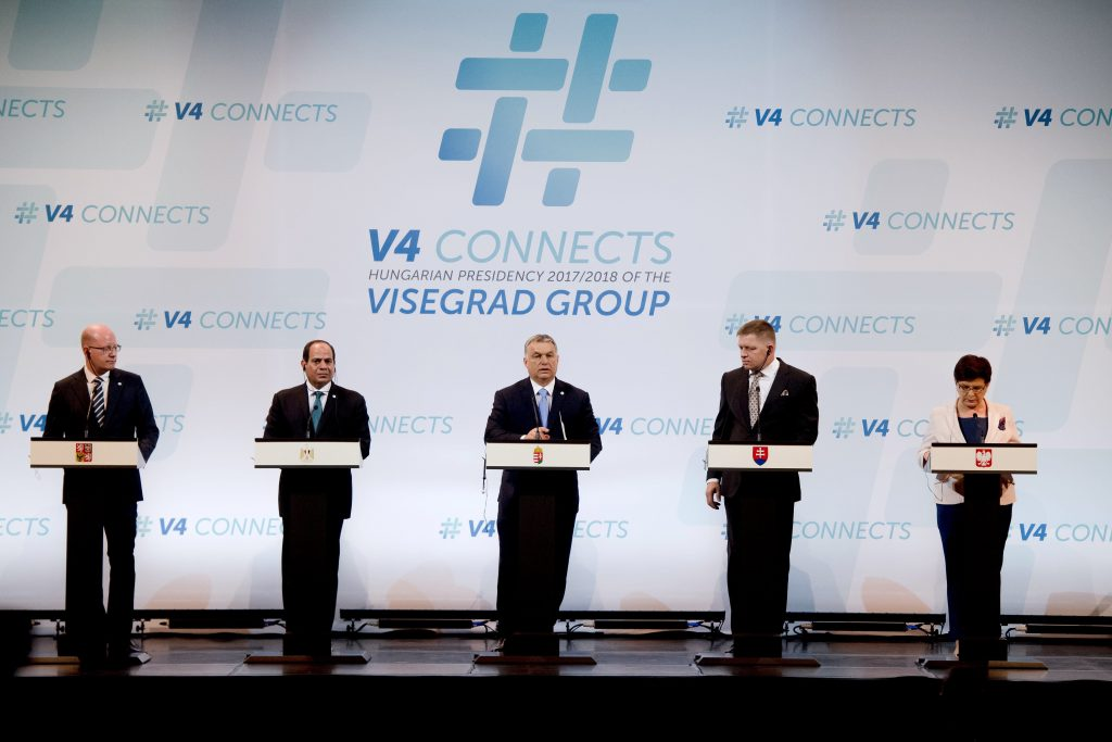 Visegrad Leaders Hold Talks With Egypt's President al-Sisi In Budapest post's picture