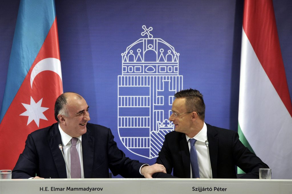 Hungarian Foreign Minister Holds Talks with Azerbaijani Counterpart in Budapest post's picture