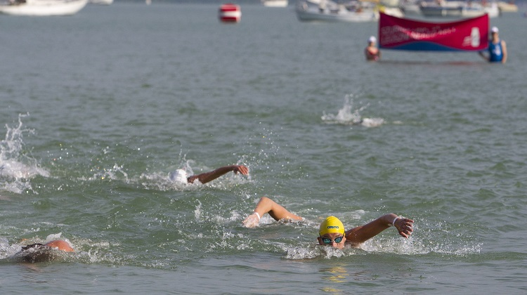 "More Than 8000 Plunge Into Lake Balaton To Swim Across The ""Hungarian Sea"" On Sunday post's picture"