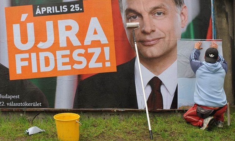 Opposition Socialists Accuse Ruling Fidesz Of Nationwide Billboard Cheating During 2010 Elections post's picture