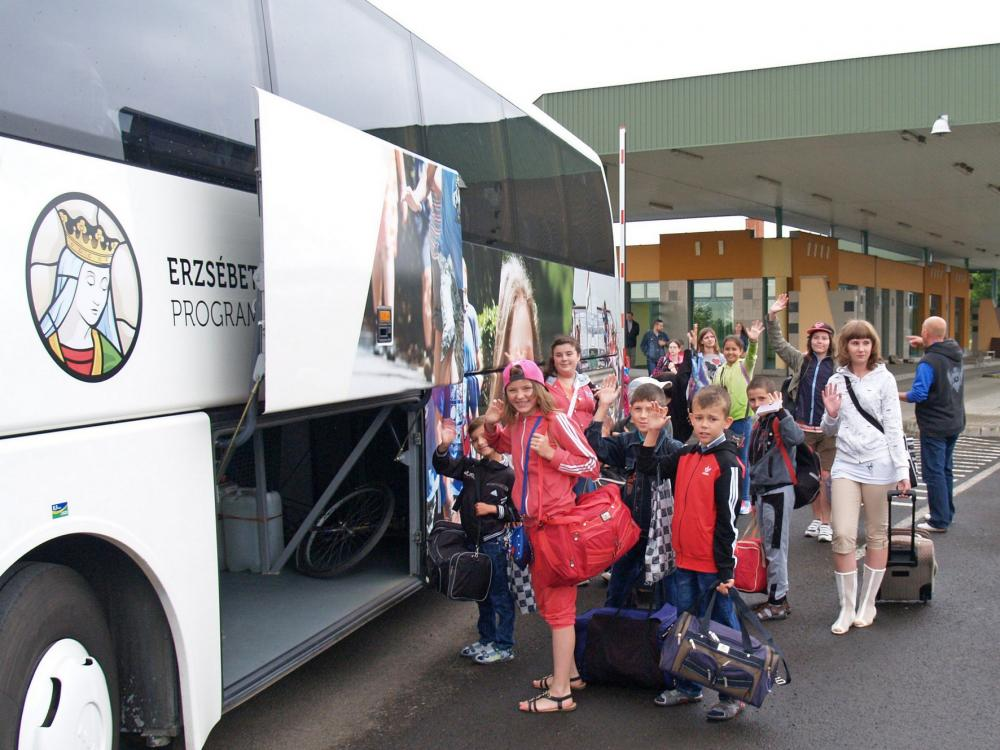 Ethnic Hungarian Children From Transcarpathia And Vojvodina Arrived In Summer Camp At Lake Balaton post's picture