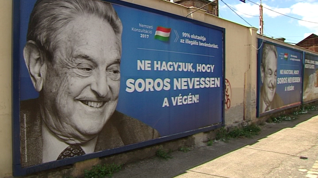 Hungarian Jewish Federation Calls on Orbán to End Government Anti-Soros Billboard Campaign post's picture