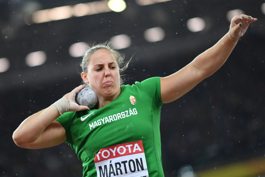 Anita Márton Has Shot for Silver -The Second Hungarian Medal at the 2017 IAAF World Championship post's picture
