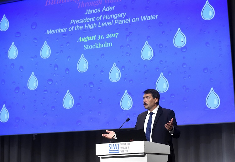"Hungarian President János Áder Warns of ""Cardinal Problem"" of Impending Water Crisis post's picture"
