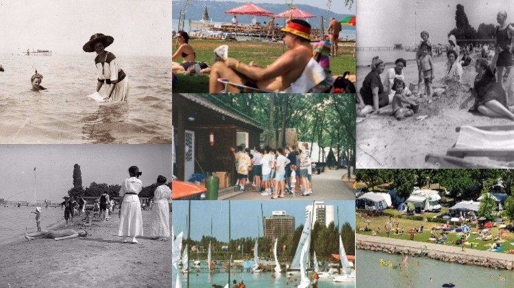The Eternally-Shining Beach Resorts Of The Balaton – Photos Of The Last Century post's picture
