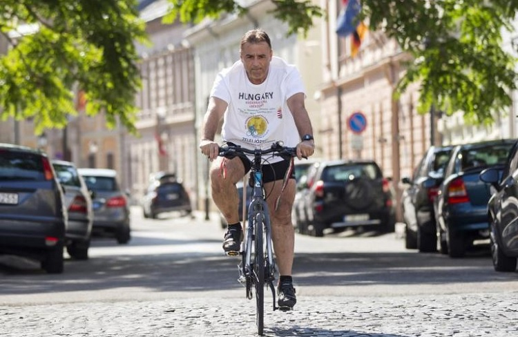Peace Ambassador On Wheels – Hungarian WWI Memorial Bicycle Tour Leaves for Italy post's picture