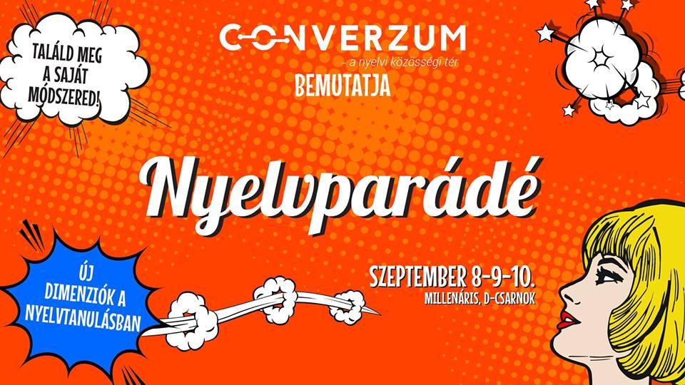 Budapest's Millenaris Park To Host 'Nyelvparádé' Language Fair post's picture