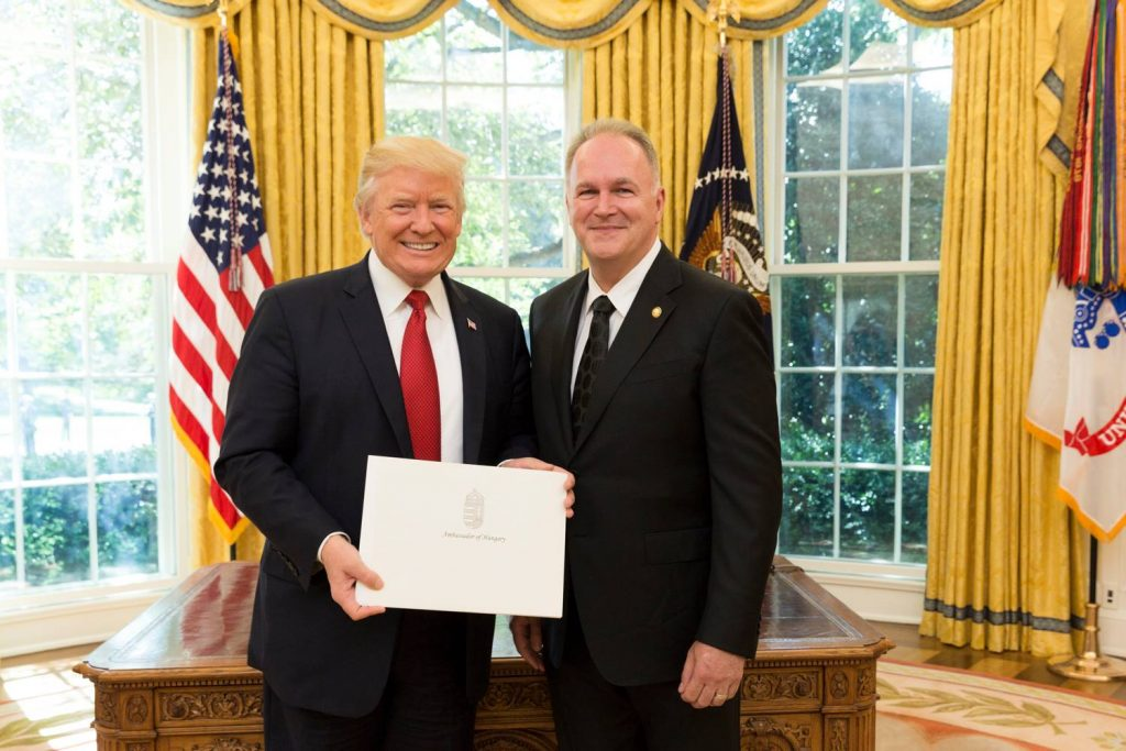 New Hungarian Ambassador Presents Credentials to Trump in DC post's picture