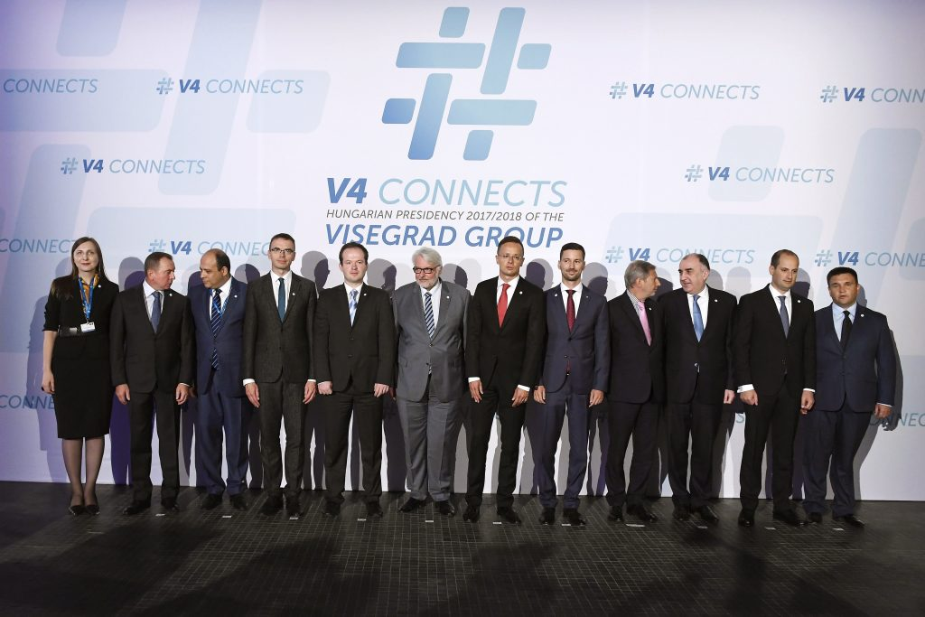 EU 'Eastern Partnership' Countries Meet with Visegrád Group in Budapest post's picture