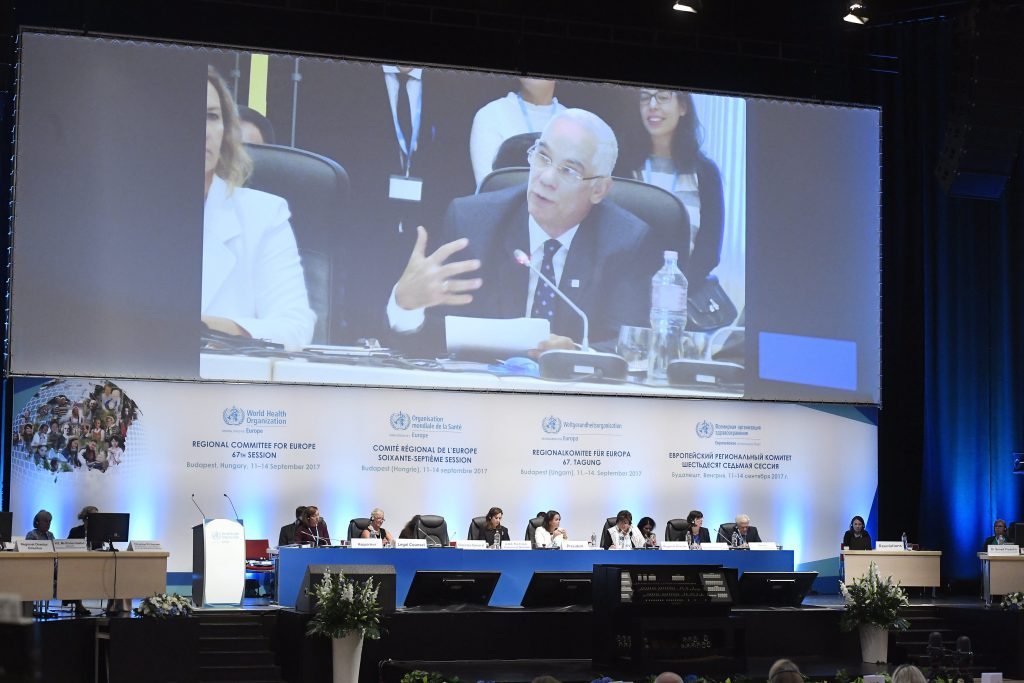 World Health Organisation Regional Committee Meeting Held In Budapest post's picture