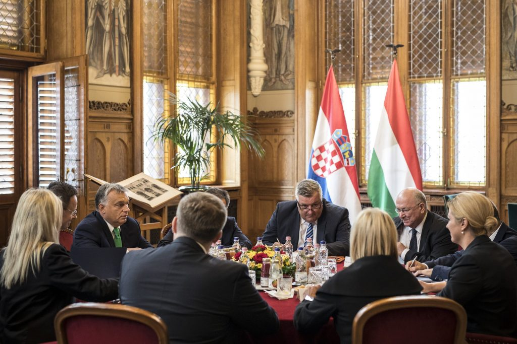 Orbán Meets with Croatian President, Greek Prime Minister, and Turkish Deputy PM in Budapest post's picture