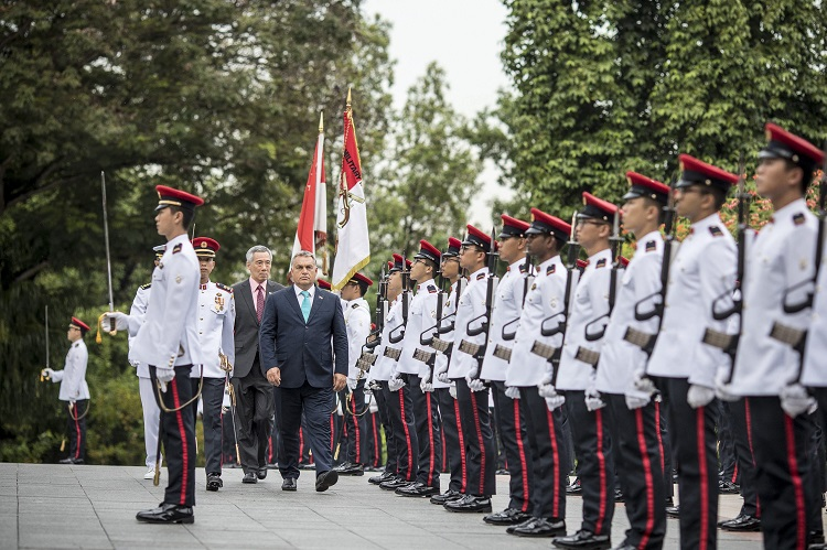 """Hungary's PM Orbán Hails """"Self-Invented Models"""" On Official Visit To Singapore post's picture"""