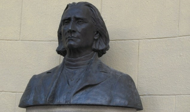 Budapest Donates Bust of Composer Franz Liszt To Buenos Aires post's picture
