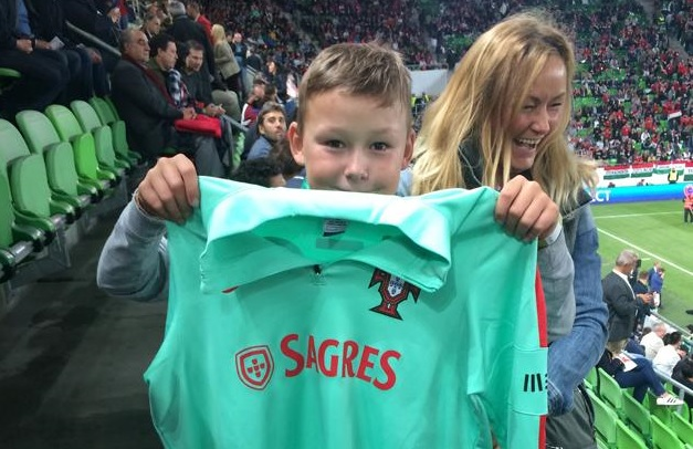Christiano Ronaldo Made Dreams Come True In Hungary   post's picture