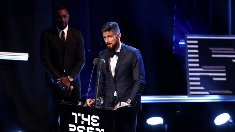 Amazing Scorpion Kick Earns Olivier Giroud FIFA Award Named After Hungarian Legend Ferenc Puskás – Video! post's picture