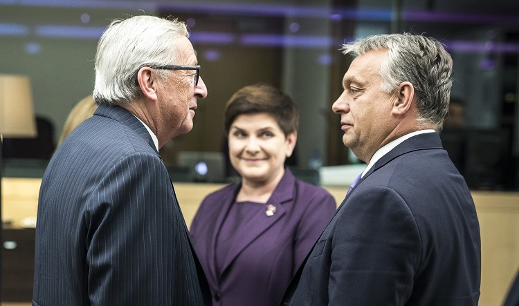 Juncker: Orbán Should be Thankful to Merkel Rather than Criticizing Her post's picture