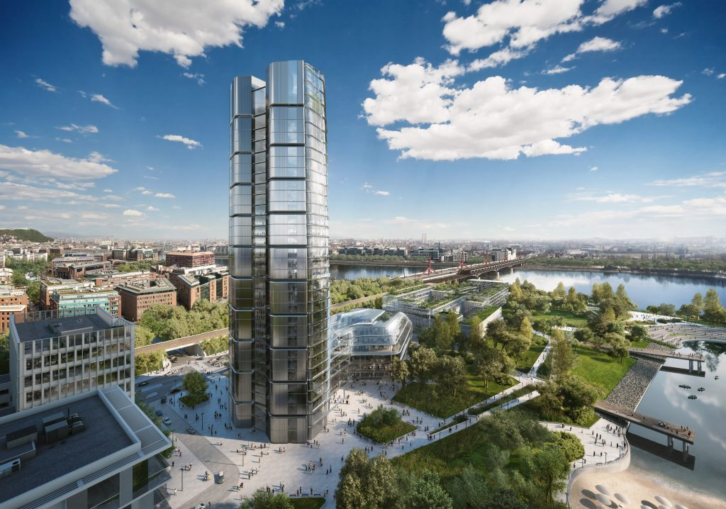 Hungarian Gas Company MOL to Build New Skyscraper in Budapest post's picture