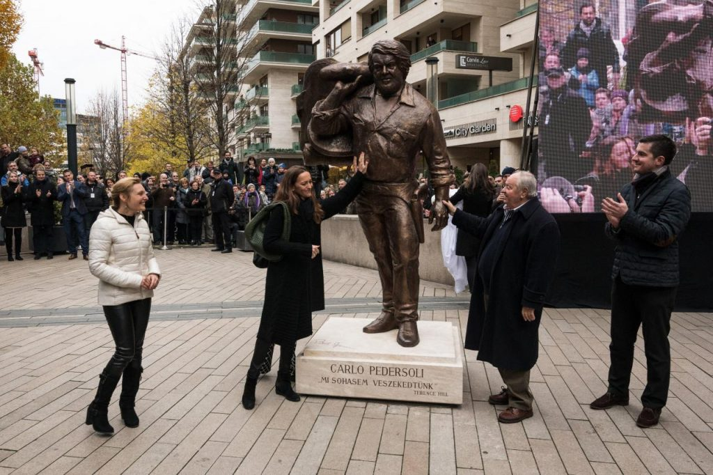 Statue of Actor Bud Spencer Unveiled in Budapest post's picture