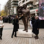 Statue of Actor Bud Spencer Unveiled in Budapest