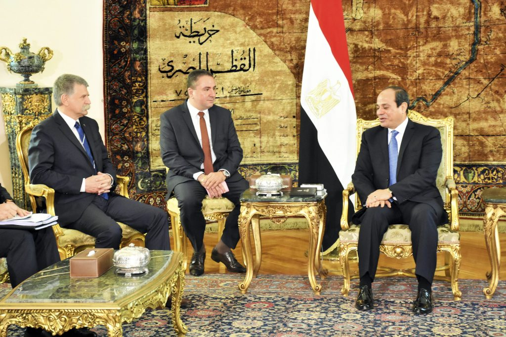 Hungarian House Speaker Visits Cairo, Praises Egyptian Government's Anti-Terrorism Efforts post's picture