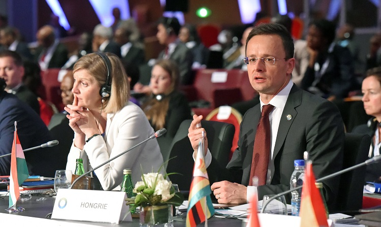 "Attending EU-Africa Summit In Ivory Coast, Hungarian Foreign Minister Envisions ""Endless Sources Of Illegal Migration"" post's picture"