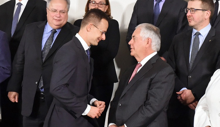 "Hungarian Foreign Minister Urges ""Robust"" EU-US Cooperation In Brussels post's picture"