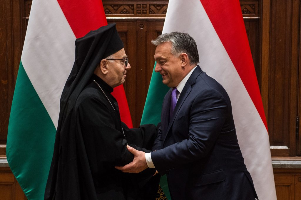 Orbán Meets with the Greek Catholic Archbishop of Aleppo post's picture