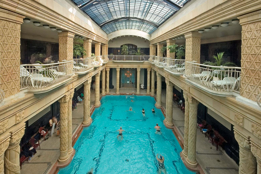 Budapest's Gellért Bath  Makes List of the Most Beautiful Art Déco Baths in the World post's picture
