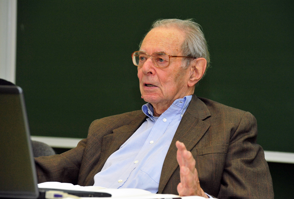Budapest's Corvinus University Honors Renowned Hungarian Economist János Kornai on His 90th Birthday post's picture