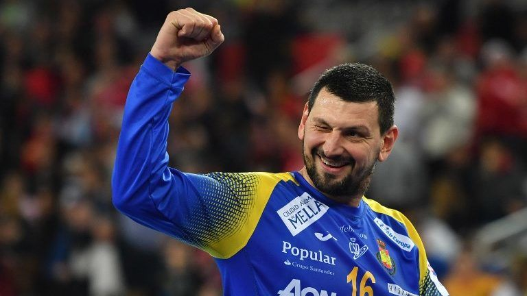 Hungarian Goalkeeper Árpád Sterbik Helps Spain to Win European Handball Championship post's picture