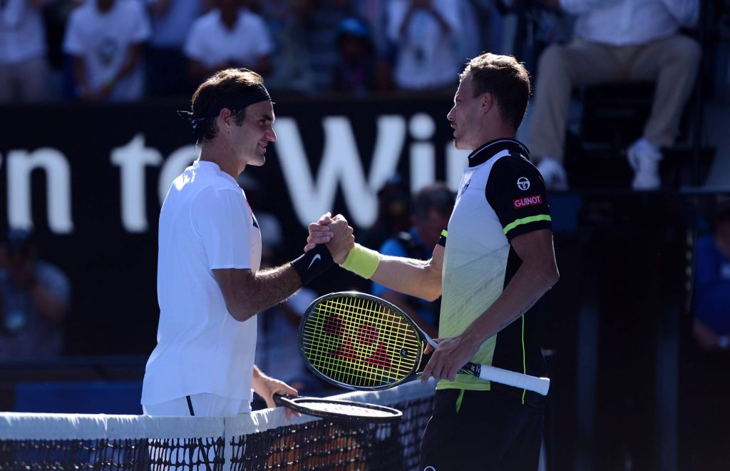 """Hungary's Márton Fucsovics Loses After Giving Tennis Legend Roger Federer """"a Hard Time Breaking Through"""" at the Australian Open"""