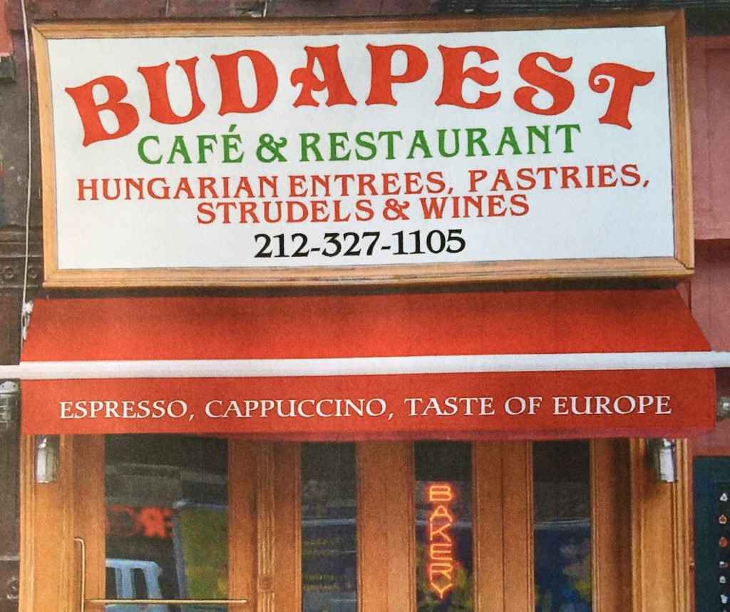 Preserving Our Heritage Overseas: Hungarian Restaurants in the United States